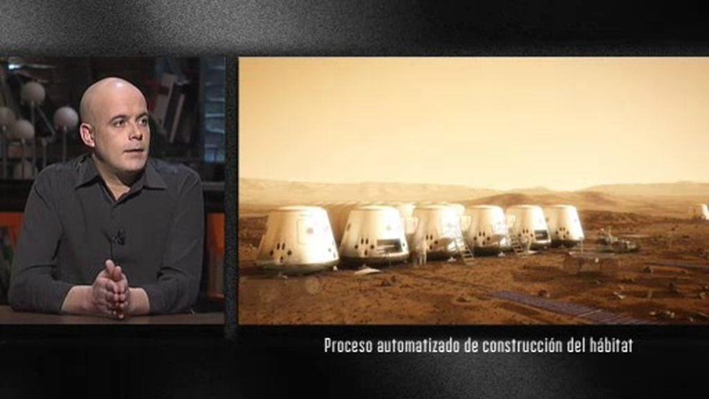 """Juan José Díaz-Guerra, inscrito en el 'Mars One': """"Es un programa solo con billete de ida"""""""