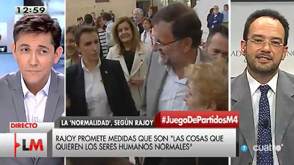 """A. Hernado: """"La gente no quiere un partido que utiliza los derechos de las mujeres para que sus expectativas electorales suban"""""""