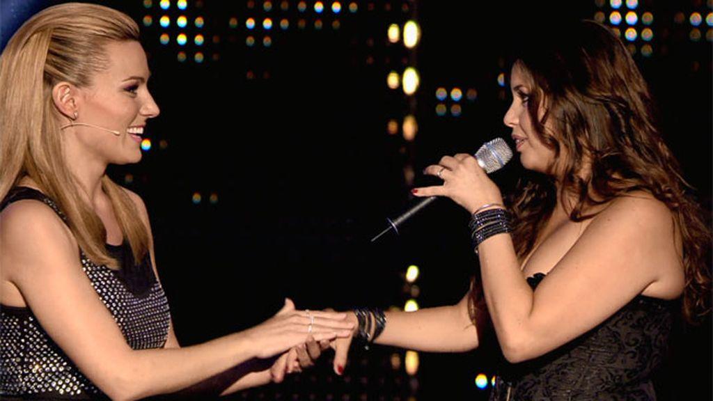¡La ópera y el rock de Cristina accionan el botón dorado de Edurne!
