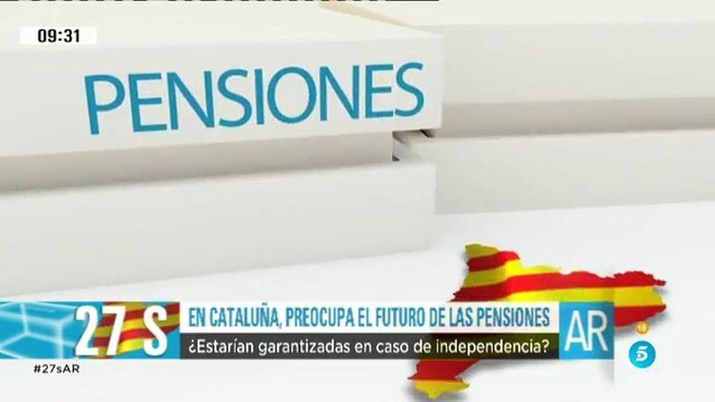 El futuro de las pensiones en Cataluña, una de las principales preocupaciones