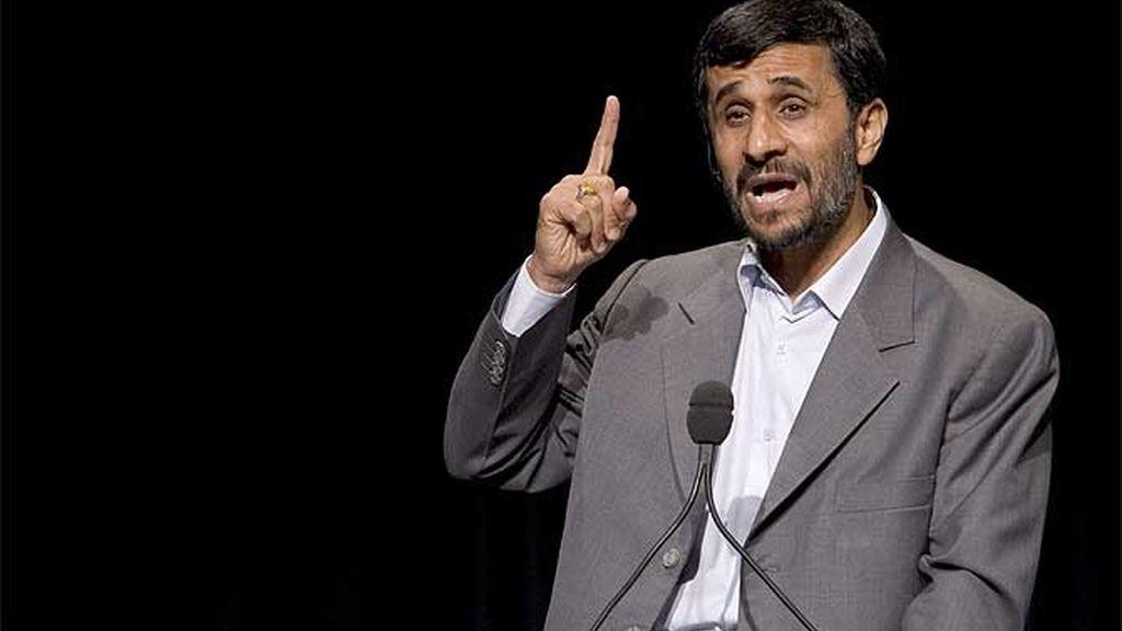 Imagen de archivo del presidente de Irán, Mahmud Ahmadineyad.