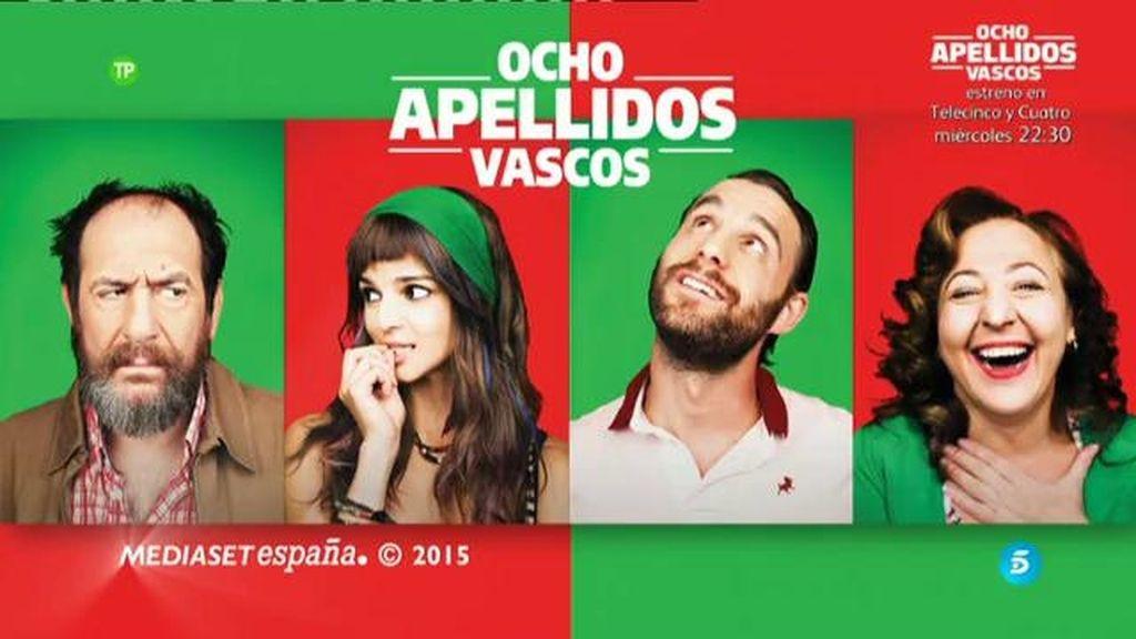 'Ocho apellidos vascos', el miércoles a las 22.30 horas en Telecinco y Cuatro