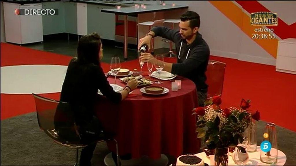 """Suso, sorprendido con la romántica cena con Raquel: """"¡Qué bonito!"""""""