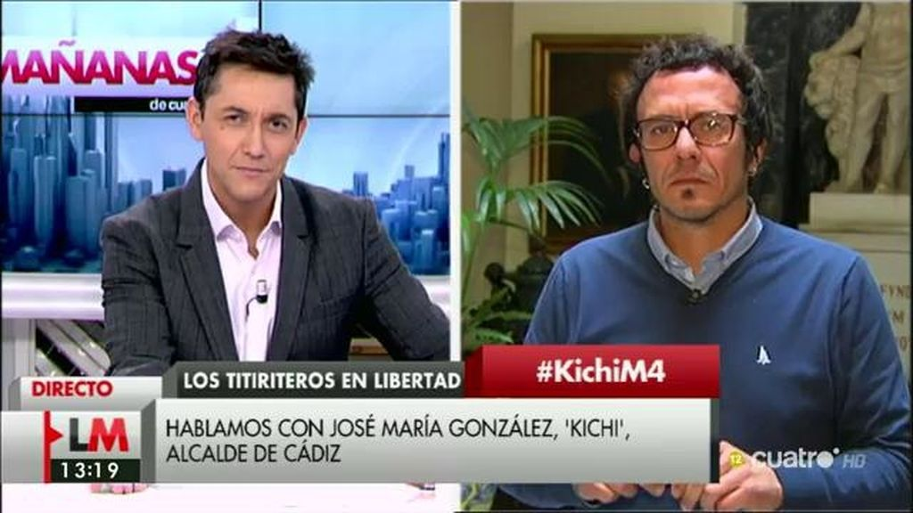 La entrevista de José María González 'Kichi' en 'Las Mañanas de Cuatro', a la carta