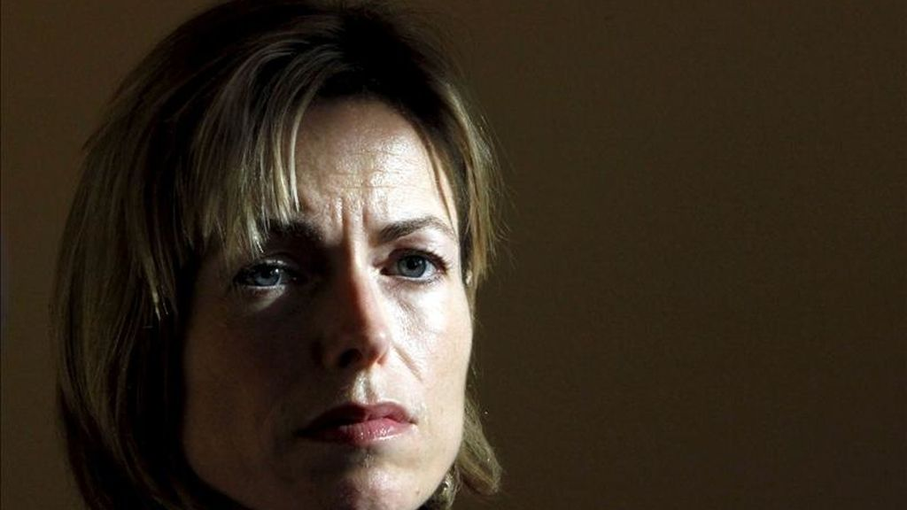 Kate McCann, la madre de Madeleine, la niña británica desaparecida hace ahora cuatro años en Portugal. EFE/Archivo