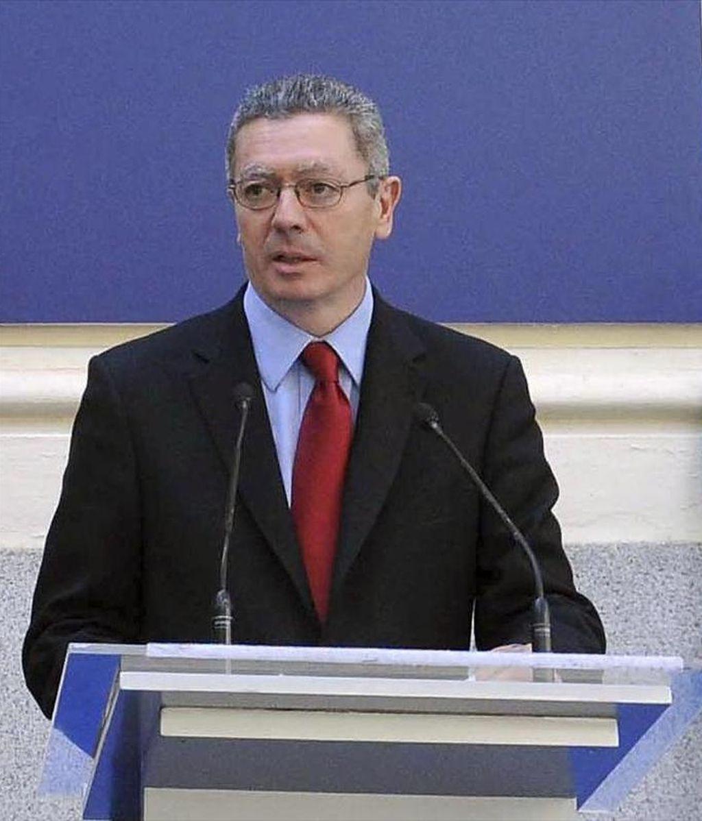 El alcalde de Madrid y candidato del PP a la reelección, Alberto Ruiz-Gallardón. EFE/Archivo