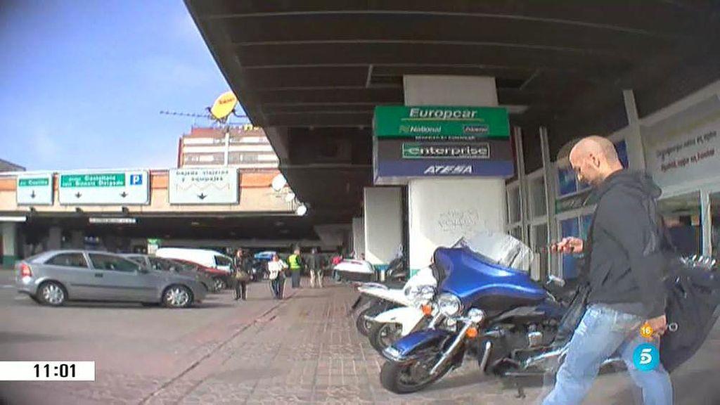 'AR' localiza a Carlos Manzanares saliendo del gimnasio de Miguel Ángel Flores