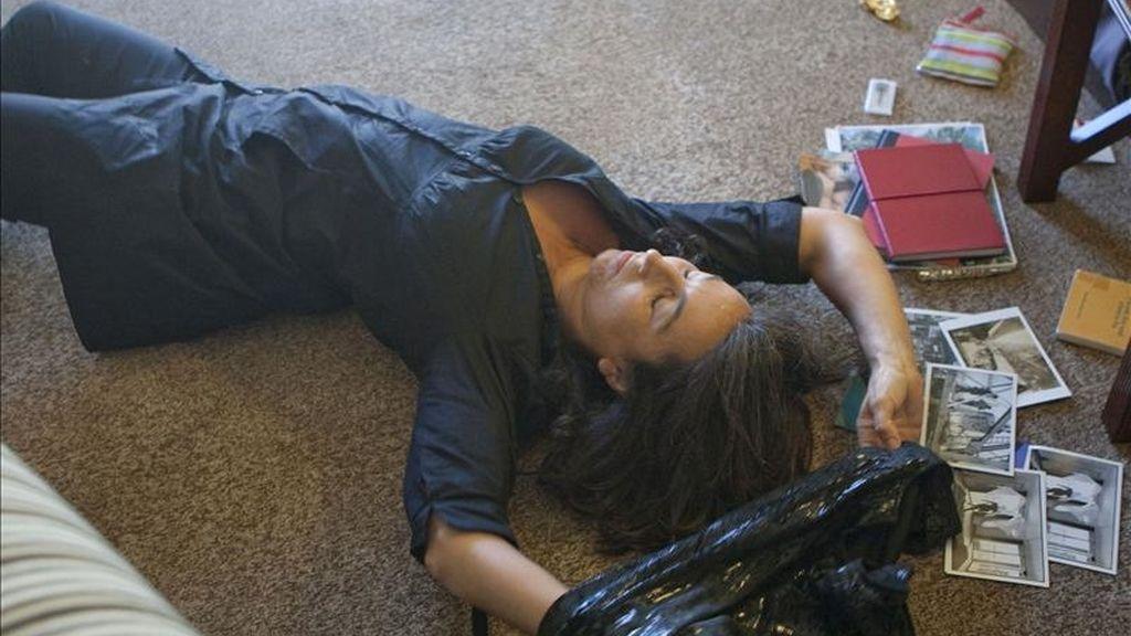 """En la imagen, Angels Margarit durante el pase gráfico del espectáculo """"Solo para habitación de hotel"""". EFE/Archivo"""