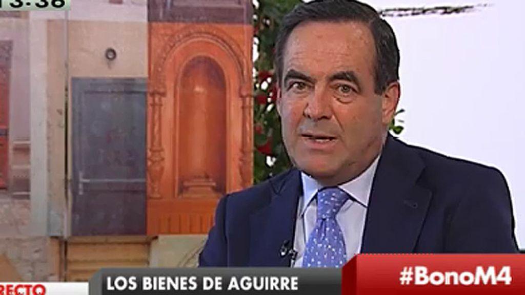 """José Bono: """"No votaré a Manuela Carmena, pero me merece más respeto por su conducta y por su actividad que Aguirre"""""""