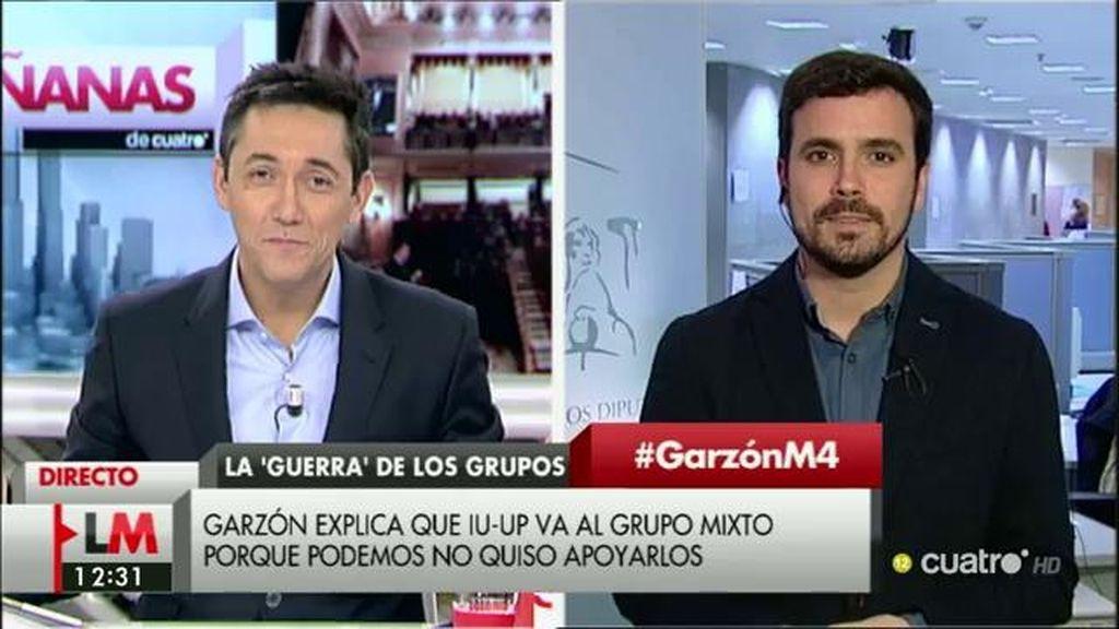 La entrevista completa a Alberto Garzón