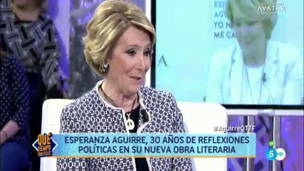 """Aguirre: """"Cuando te diagnostican un cáncer, pones la jerarquía de valores en su sitio"""""""