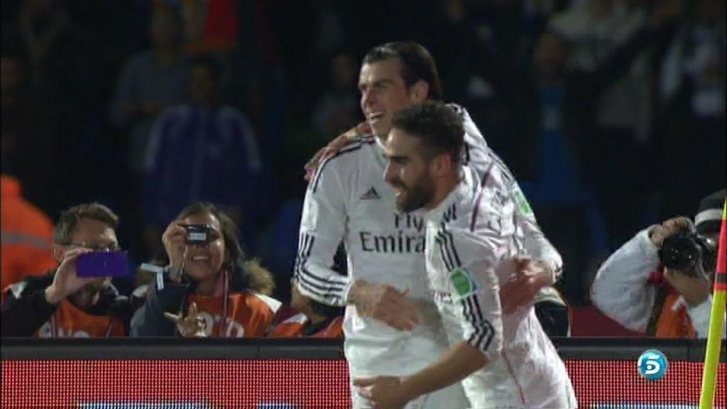 Gareth Bale hace el segundo y encarrila la victoria tras la cantada de Torrico