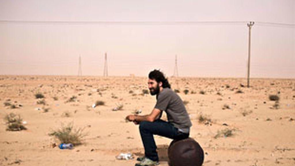 Manu Bravo, el fotógrafo español desaparecido en Libia.