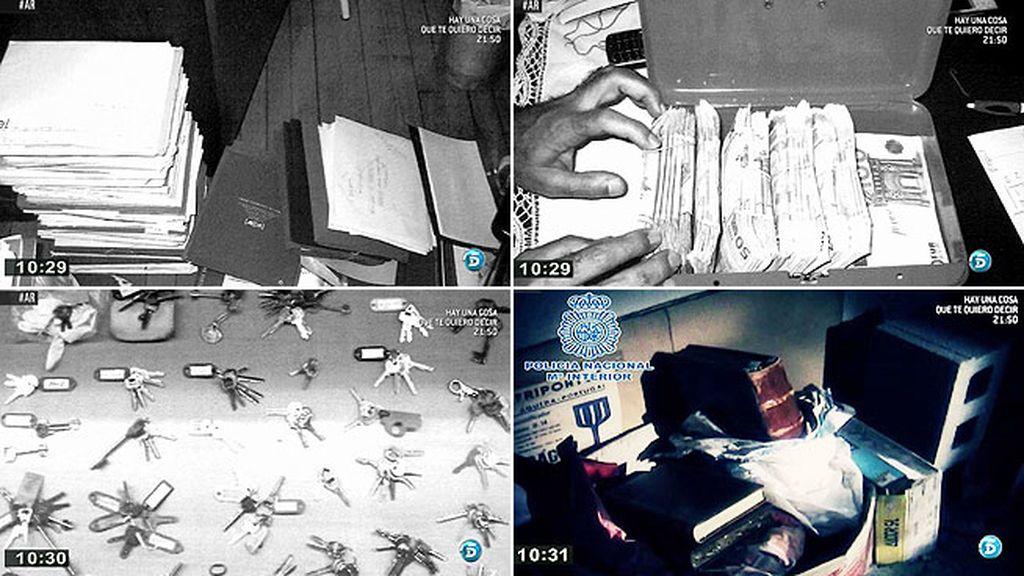 Así fueron los registros en casa de Manuel Fernández Castiñeiras