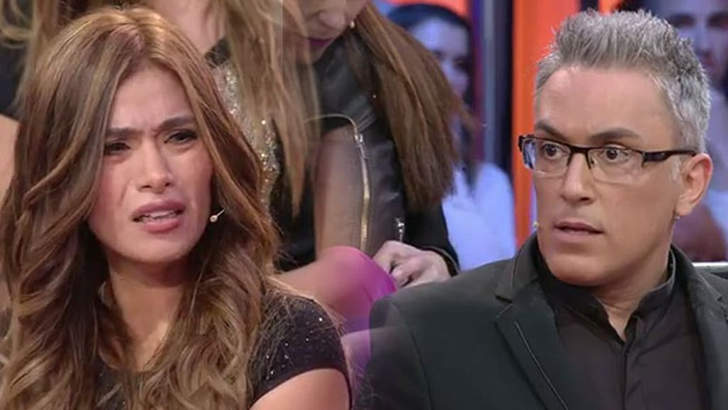 """Kiko Hernández, a Miriam: """"Me han dicho que estás liada con Antonio Pavón"""""""