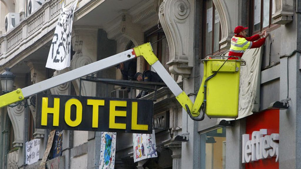 Desalojan el hotel Madrid