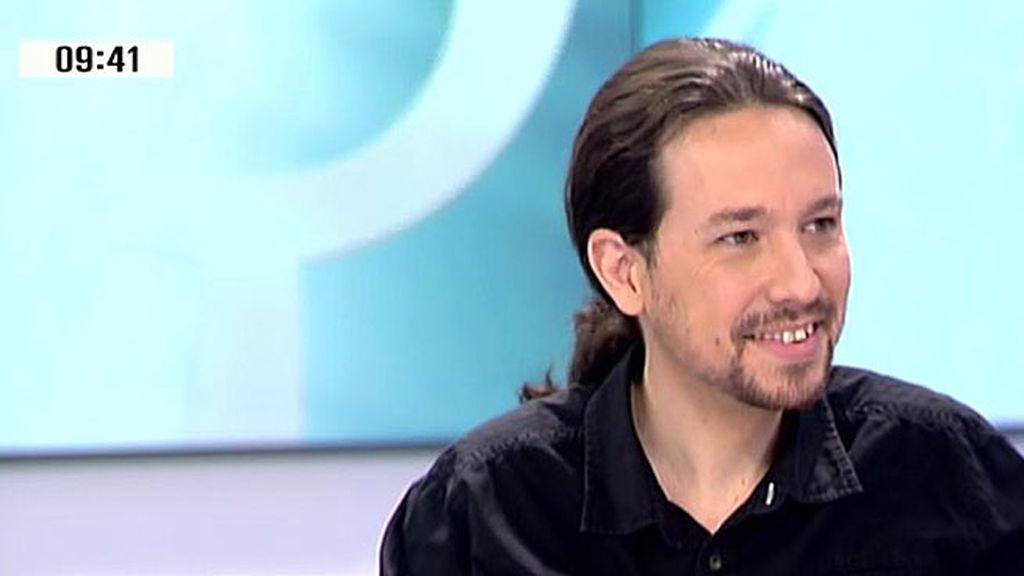 """Pablo Iglesias: """"Podemos nunca se pondrá de acuerdo con el PP"""""""