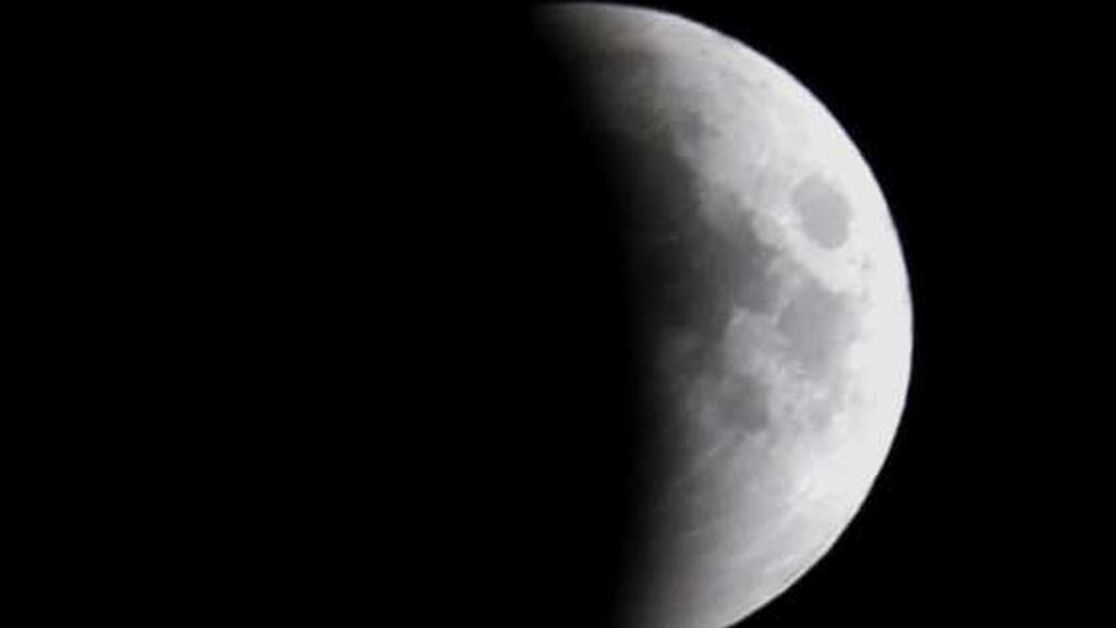 Detalle del eclipse