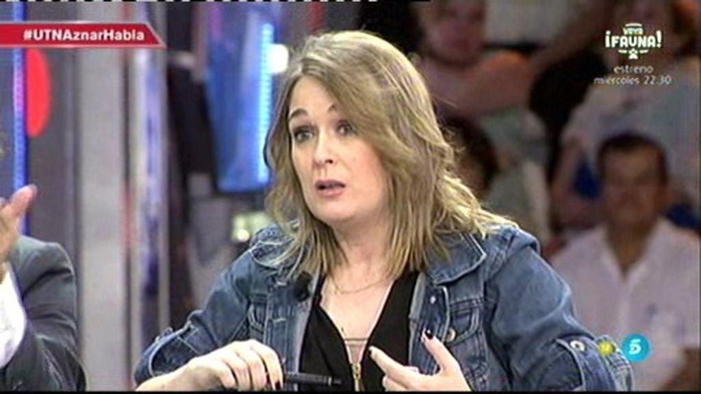 """Marta Rivera: """"Eso mismo que dice Aznar, lo dicen en Génova con la boca pequeña"""""""