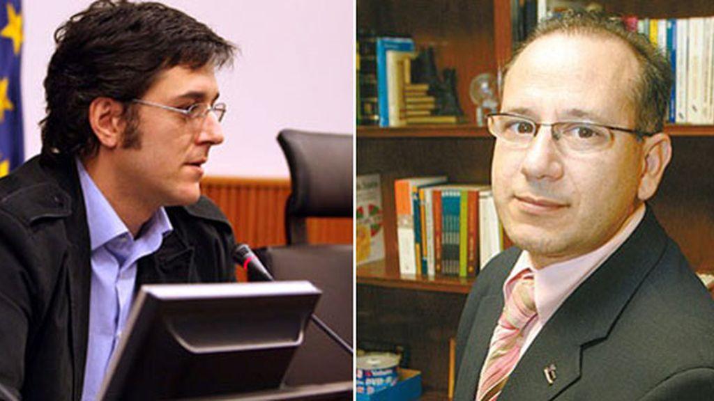 Eduardo Madina y Francisco José Alcaraz