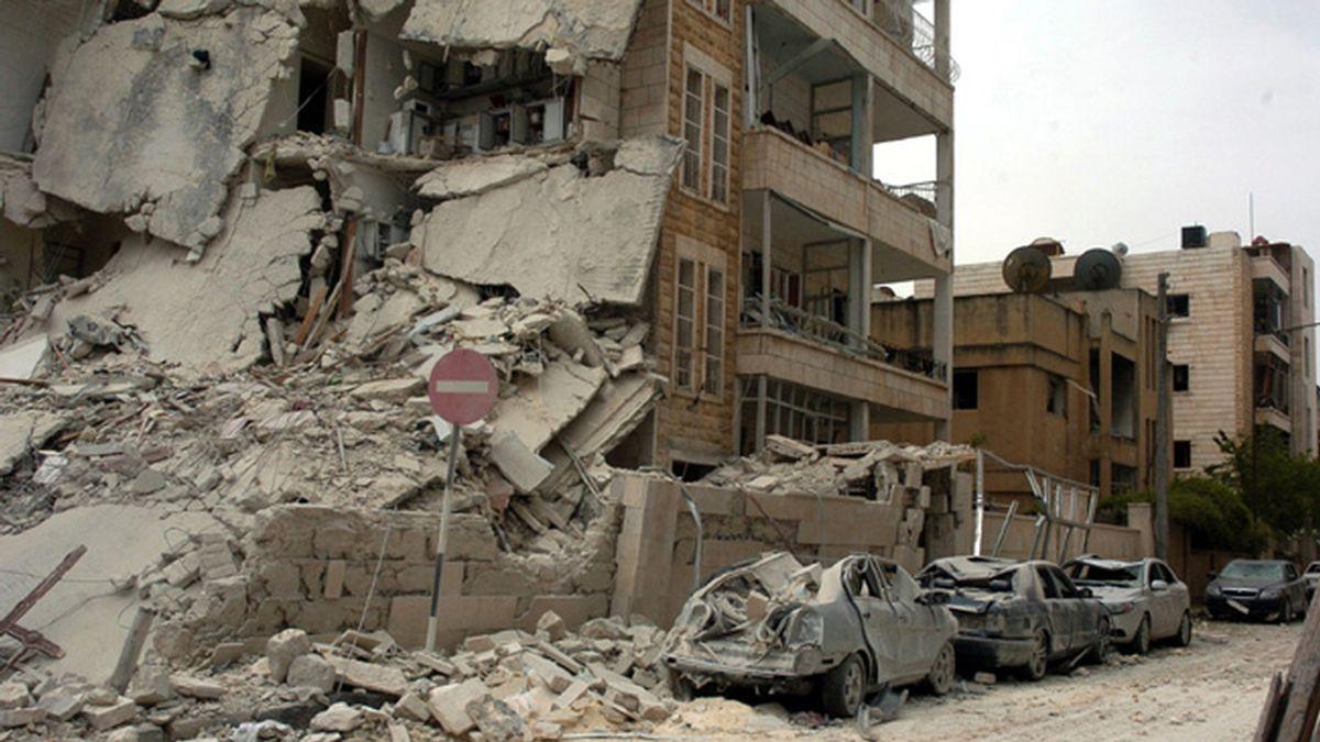 Siria, Idlib, atentados, Sana, Centros fuerzas de seguridad, explosiones