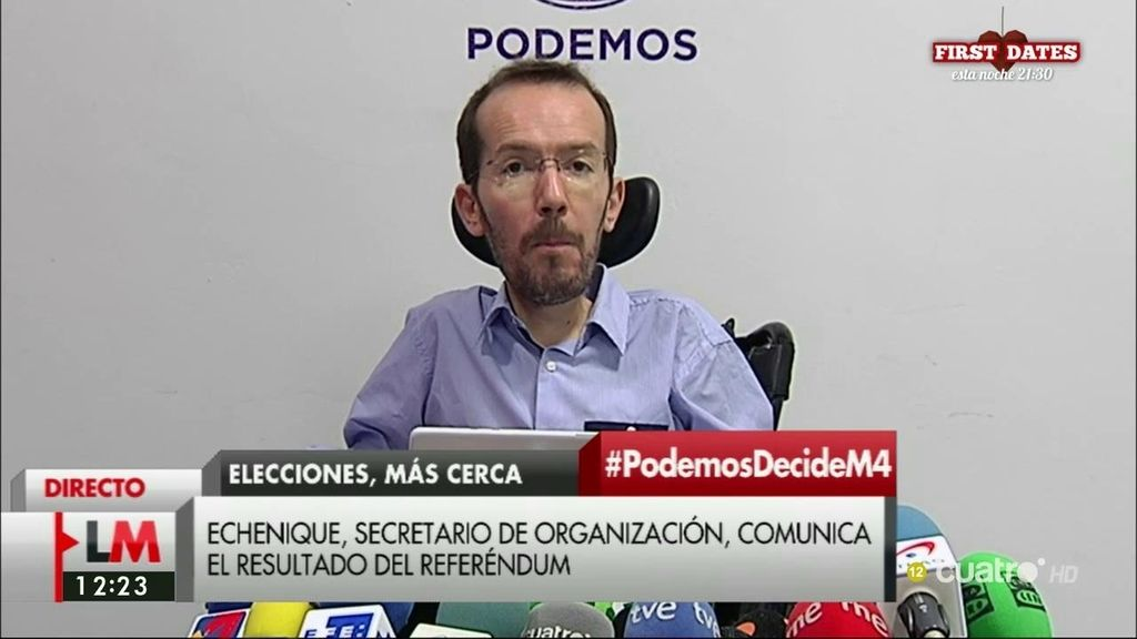 Los votantes de Podemos dicen 'no' a respaldar un gobierno de PSOE y C's