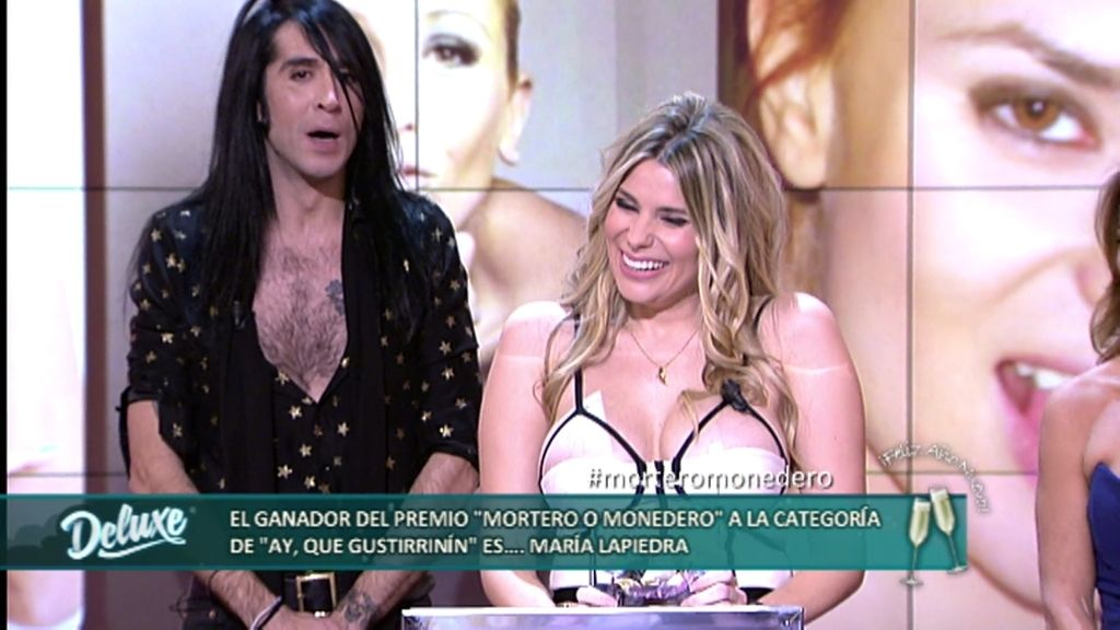 """Premios Mortero o Monedero: María La Piedra gana el premio """"Ay, qué gustirrinín"""""""
