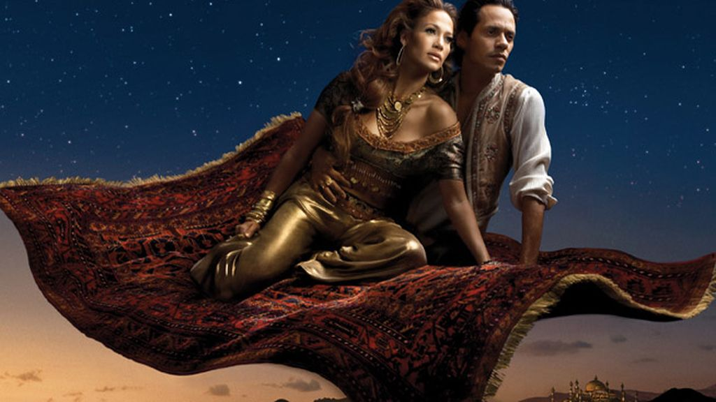 Jennifer Lopez y Marc Anthony (Aladdin)