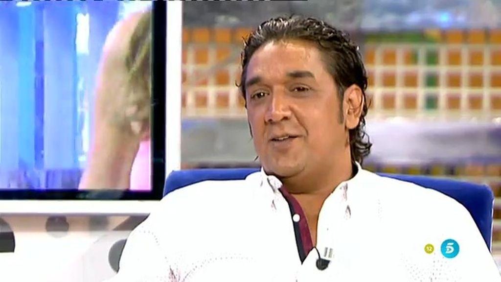 """Luis Amaya: """"Le han dado un 'toque' de atención a Chabelita por haberme visto"""""""