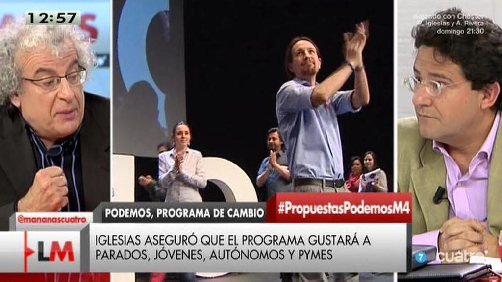 """Calleja: """"El programa de Podemos no le gusta ni siquiera al que lo hizo"""""""