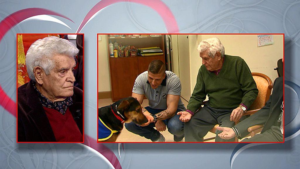 Los abuelos aconsejan a Lukas y Labrador en materia de amor