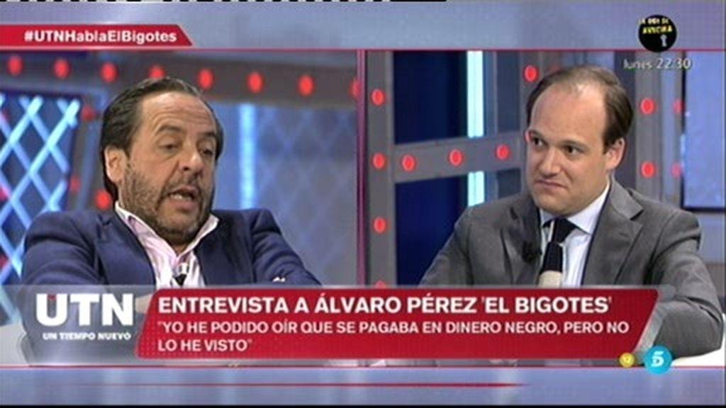 """Álvaro Pérez: """"Yo no sabía que había gente en Génova que cobraba dinero negro"""""""