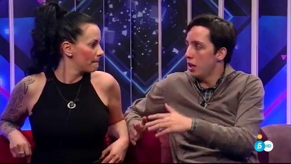 Laura Campos y Fran, enemigos declarados