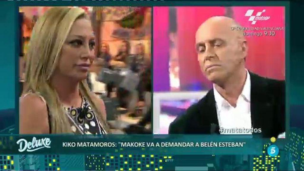 """Kiko Matamoros, a Belén Esteban: """"Tienes embargada tu vida"""""""