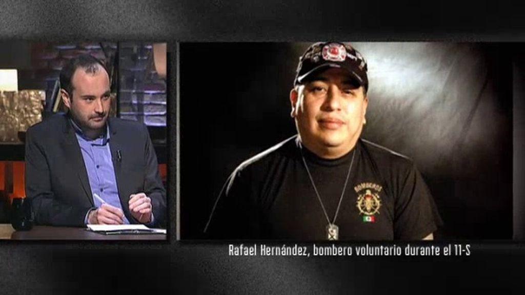 """Rafael Hernández, bombero del 11-S: """"Una visión me guio para poder salvar a la gente"""""""