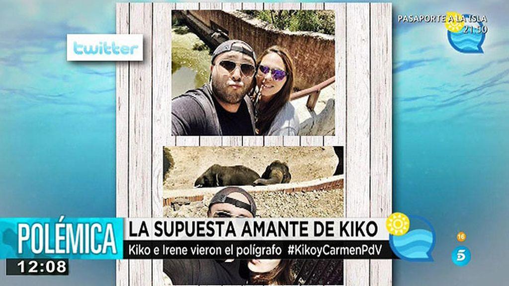 Kiko e Irene proclaman su amor en Twitter