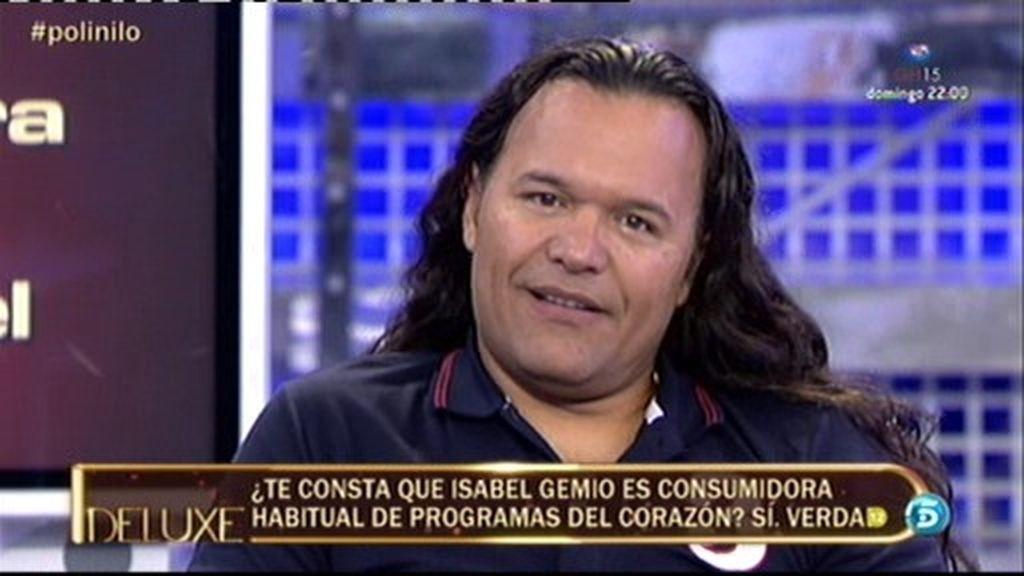 Según el polígrafo, Isabel llamaba trepa y 'chupa cámara' a Jorge Javier Vázquez