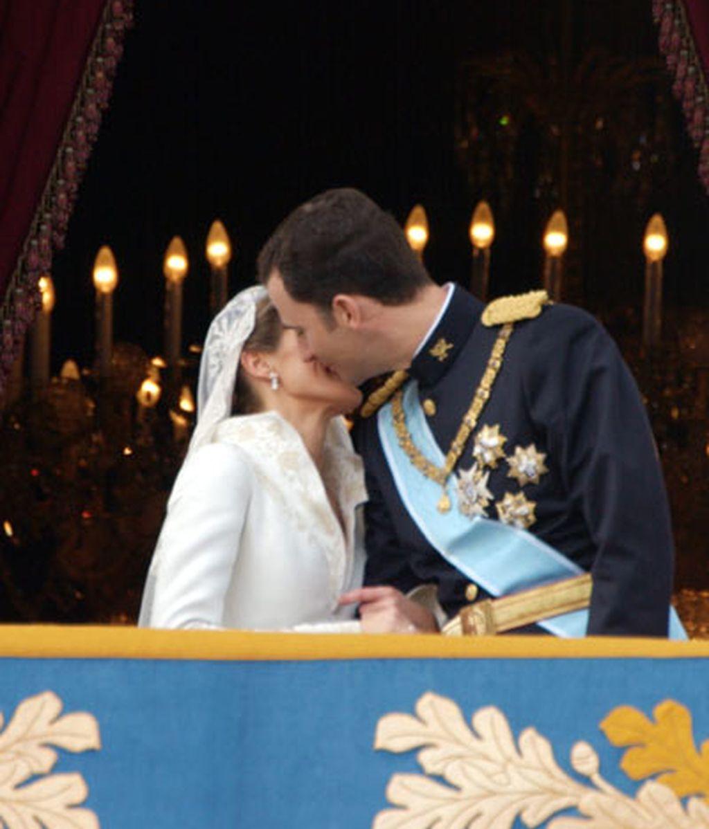 El príncipe Felipe y doña Letizia