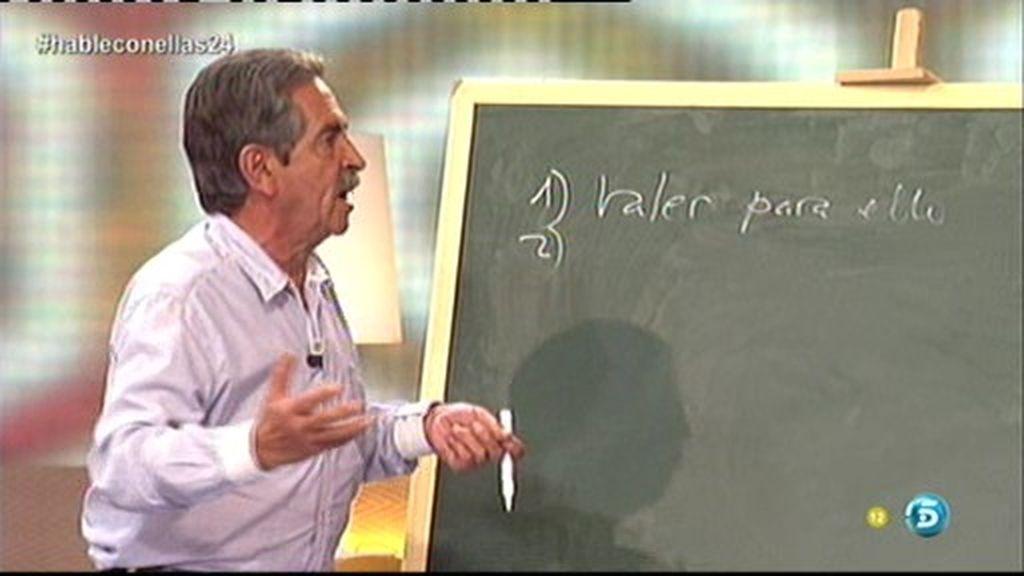 Las cinco claves de Miguel Ángel Revilla para hacernos ricos