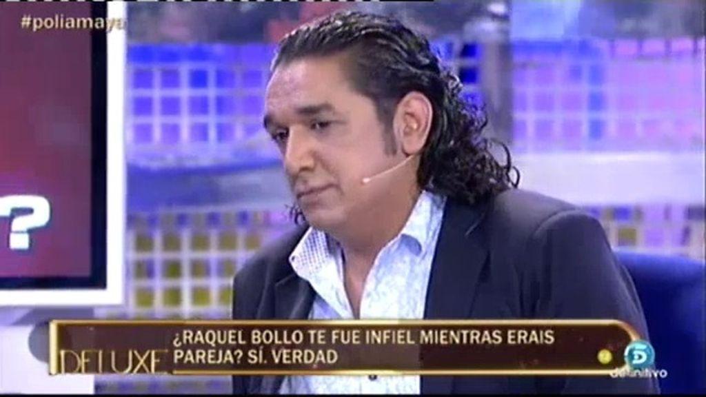"""Luis Amaya: """"Raquel Bollo me fue infiel mientras éramos pareja"""""""