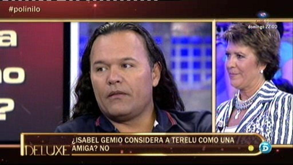 """Nilo Manrique: """"Isabel Gemio no considera su amiga a Terelu"""""""