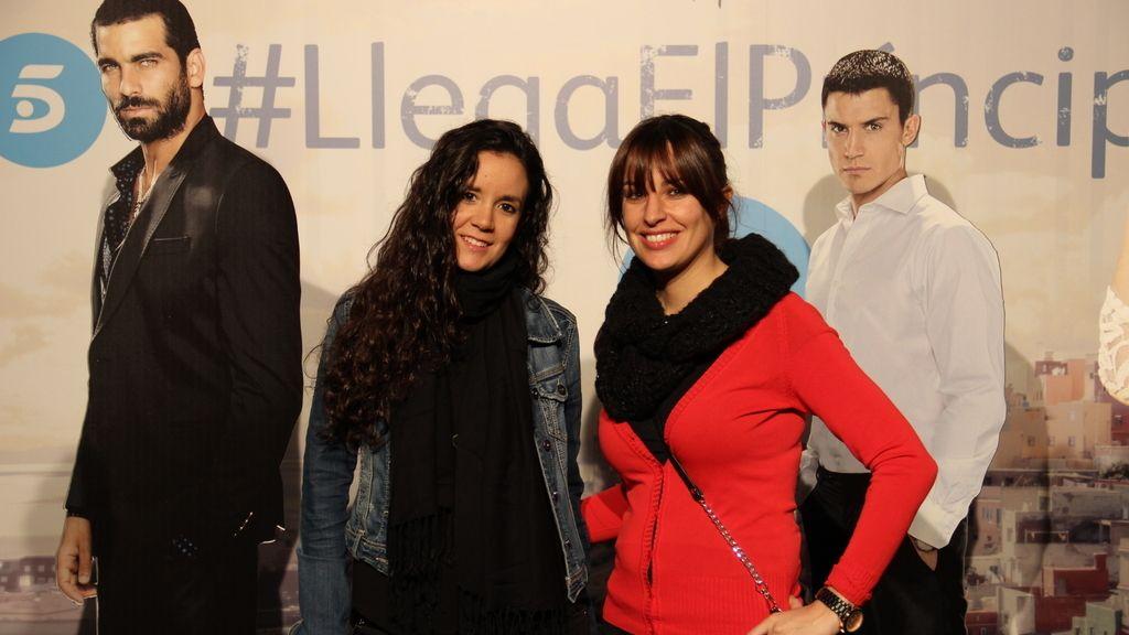 Maida Martínez y Nieves García