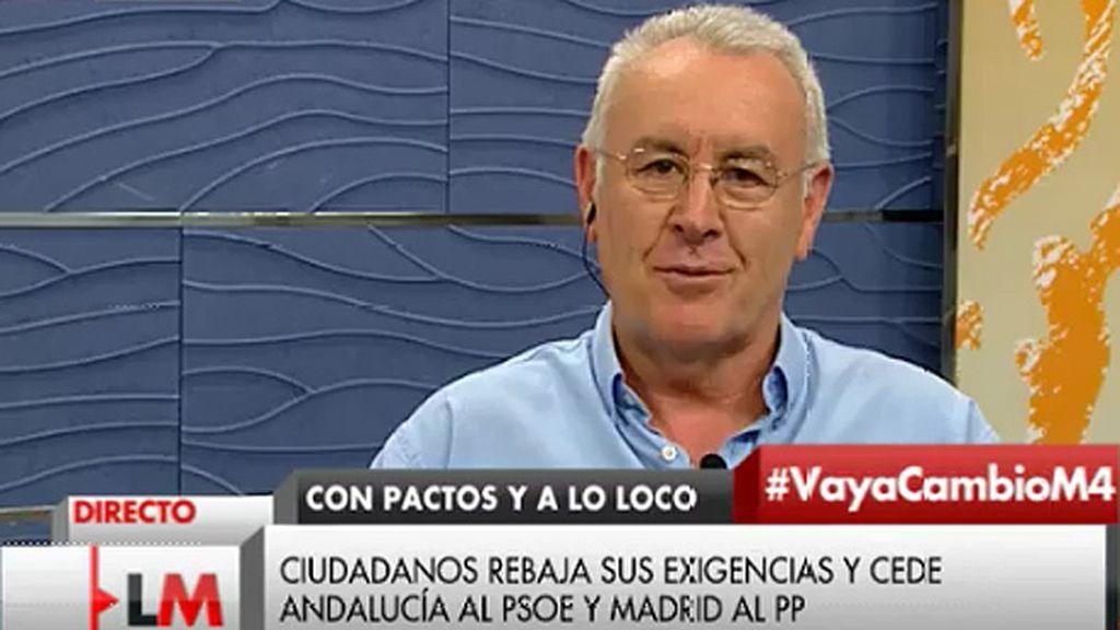 """Cayo Lara: """"Las elecciones han demostrado que se necesaria la unidad de la izquierda"""""""