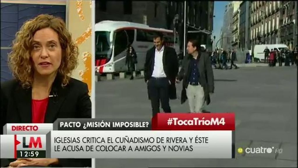 """M. Batet: """"Los tres partidos políticos tenemos la responsabilidad y la obligación de llegar a un acuerdo para hacer posible este cambio"""""""
