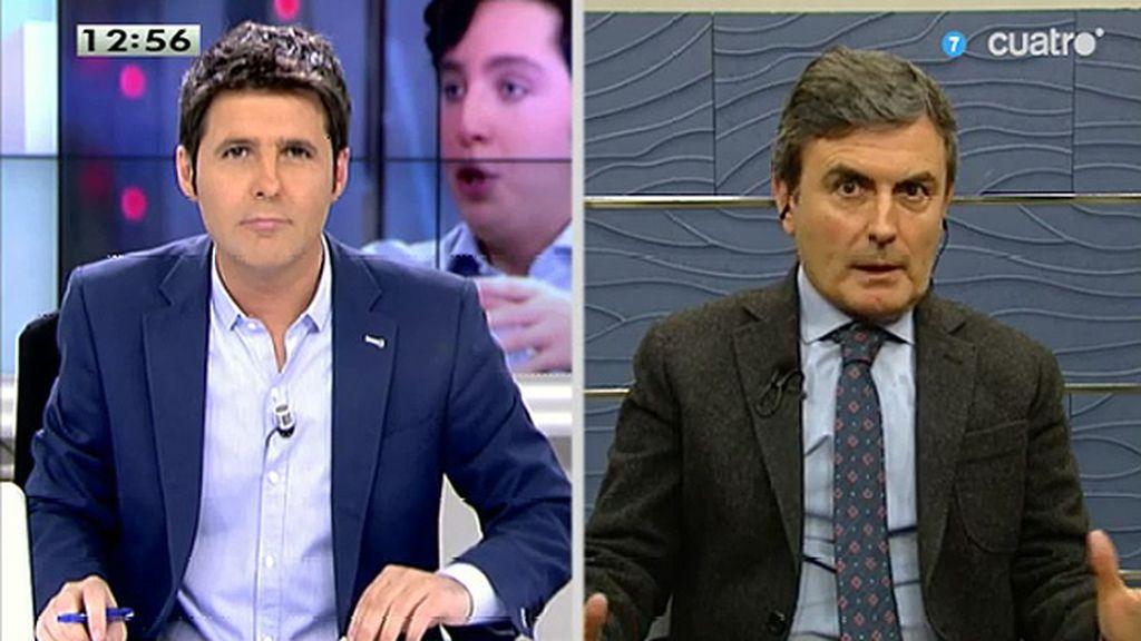 """Pedro Saura, sobre Francisco Nicolás: """"Vamos a pedir explicaciones al Gobierno"""""""