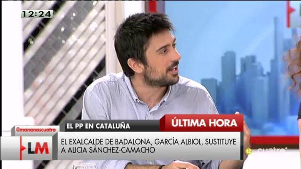 """Ramón Espinar: """"La situación en Cataluña requiere responsables políticos que construyan puentes y Rajoy construye muros"""""""