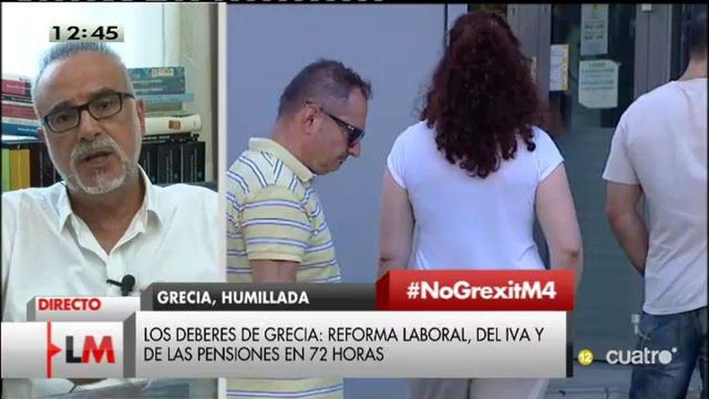 """Carles Manera, economista: """"Hoy es un día triste para la construcción europea"""""""