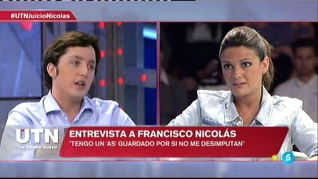 """Nicolás: """"Estoy harto. El sistema no funciona. Si el juez colabora con 'amiguitos', lo diré"""""""