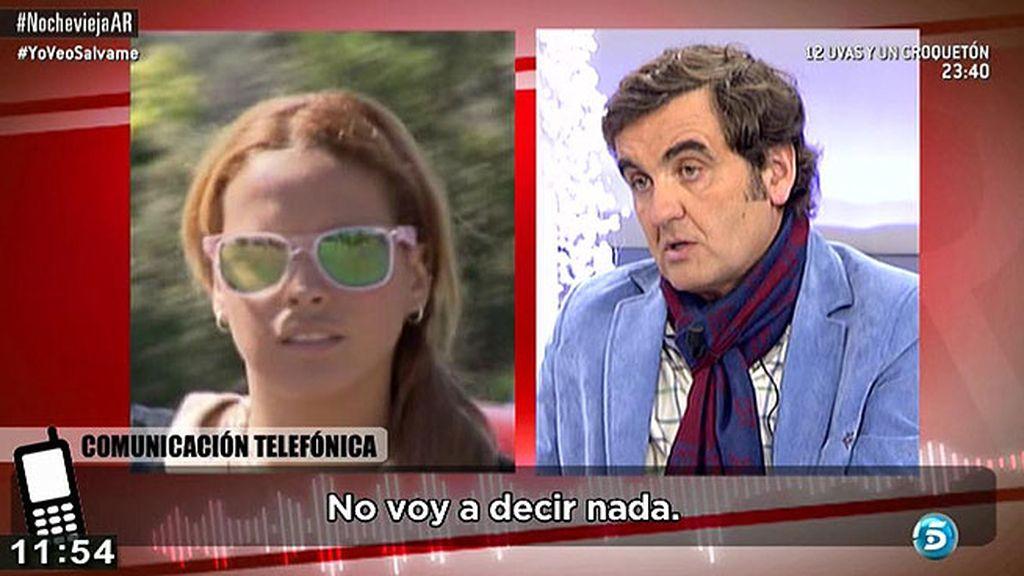 Gloria Camila pasó la Nochebuena con sus tíos Gloria y José Antonio en Sevilla