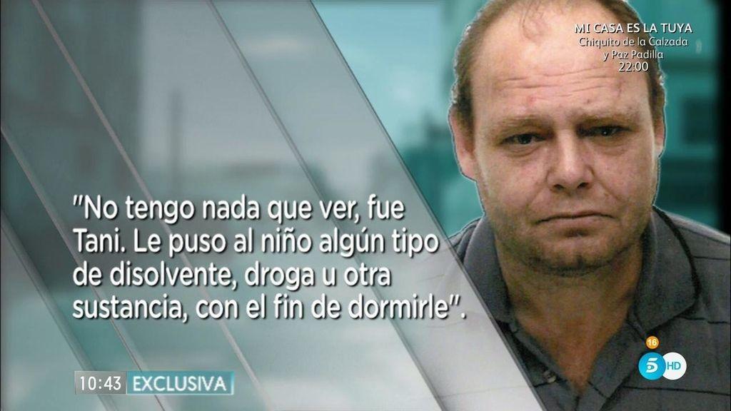 """Antonio Ojeda, sobre la desaparición de Yéremi: """"No tuve nada que ver, fue Tani"""""""
